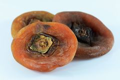 Dried persimmon Royalty Free Stock Image