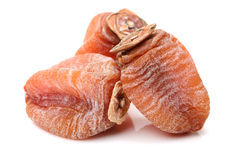 Dried persimmon Stock Photo