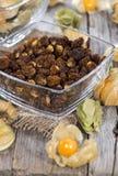 Dried Physalis stock photos