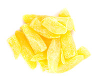 Dried pineapple Stock Images