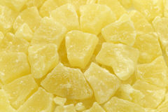 Dried pineapple Stock Photo