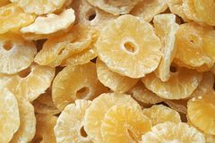 Dried Pineapple Royalty Free Stock Photography