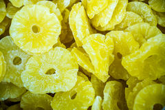 Dried Pineapple Slices Stock Photos