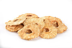 Dried pineapple slices Stock Photography
