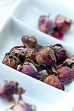 Dried Pink Rose Buds royalty free stock photo
