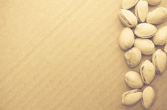 Dried pistachio nuts Royalty Free Stock Photography