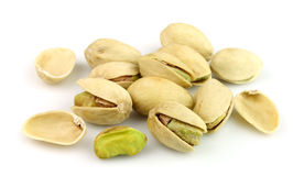 Dried pistachios Stock Photography