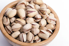 Dried pistachios Stock Images