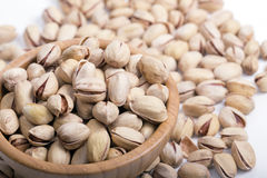 Dried pistachios Royalty Free Stock Images