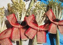 Dried plant bouquet Stock Photos