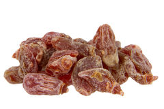 Dried plum candy Royalty Free Stock Image