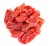 Dried plum candy Stock Photos