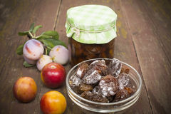 Dried plum Stock Photos