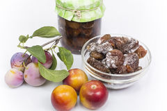 Dried plum Royalty Free Stock Image