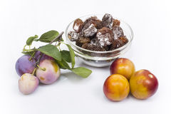 Dried plum Royalty Free Stock Photo