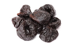 Dried plum - prunes Royalty Free Stock Image