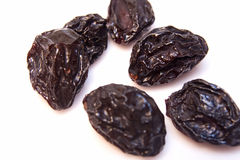 Dried plums Royalty Free Stock Photography