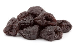 Dried plums Stock Images