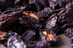 Dried plums Stock Image