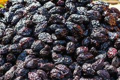 Dried plums Royalty Free Stock Photo