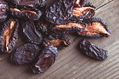 Dried plums Stock Photography