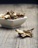 Dried Porcini Mushrooms Stock Images