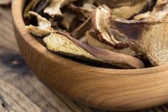 Dried porcini mushrooms Royalty Free Stock Photo