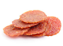 Dried pork from singapore Royalty Free Stock Photos