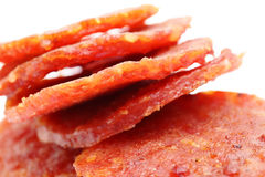 Dried pork from singapore Stock Images