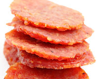 Dried pork from singapore Stock Image