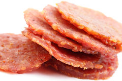 Dried pork snack Royalty Free Stock Photography
