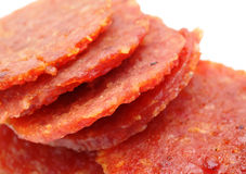 Dried pork snack Stock Image