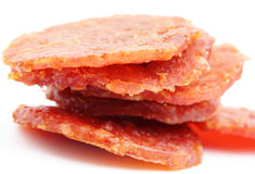 Dried pork snack from singapore Stock Images