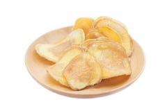 Dried potato slice Stock Photography