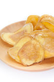 Dried potato slice Royalty Free Stock Image