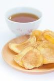 Dried potato slice Royalty Free Stock Photography