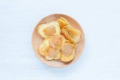 Dried potato slice Stock Photos
