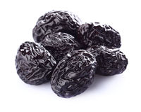 Dried prune in closeup Stock Photography