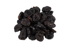 Dried prunes Stock Images