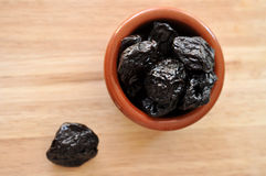 Dried Prunes Stock Image