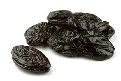 Dried prunes Royalty Free Stock Photos
