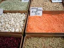Dried pulses Royalty Free Stock Image