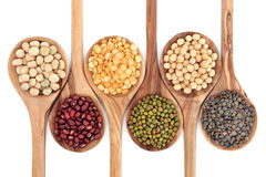 Dried Pulses Royalty Free Stock Photos