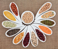 Dried Pulses stock image