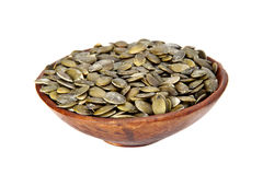 Dried pumpkin seeds. Stock Images