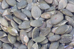 Dried pumpkin seeds Stock Photography