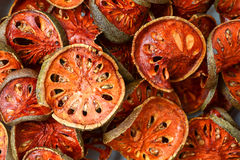 Dried quince Stock Photography