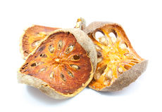 Dried quince slices Stock Image