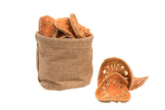 Dried quince slices Stock Photography