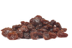 Dried raisins background Stock Images